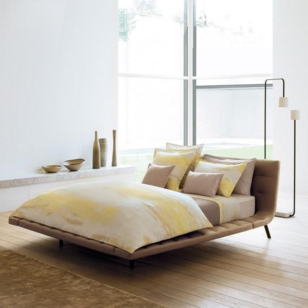 hugo boss illusion duvet cover yellow iwoot. Black Bedroom Furniture Sets. Home Design Ideas