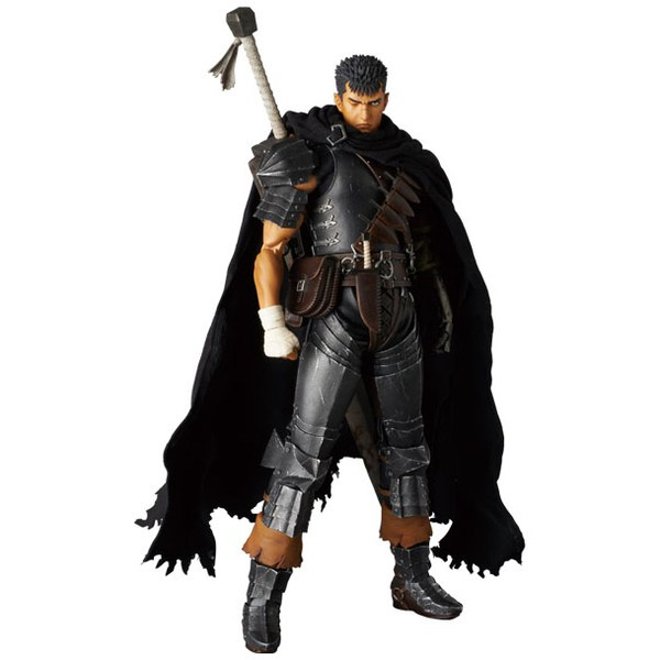 Berserk Golden Age Arc RAH Guts Black Swordsman Action