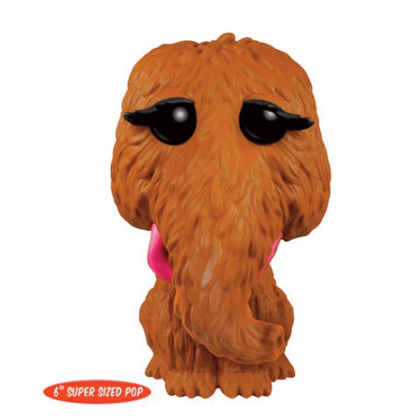 Sesame Street Mr Snuffleupagus 6 Inch Pop Vinyl Figure Pop In A Box Us
