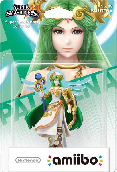 Amiibo Super Smash Bros Collection Palutena Games Zavvi