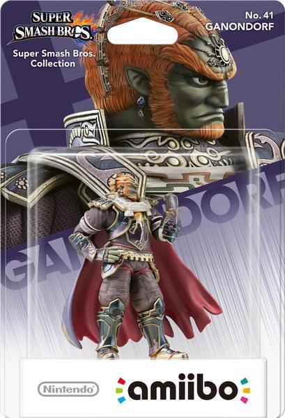 amiibo Super Smash Bros Colección Ganondorf