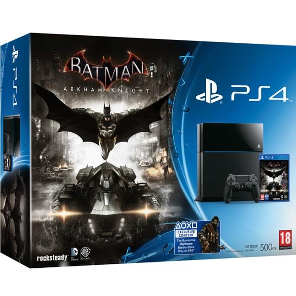 Sony PlayStation 4 500GB Console - Includes Batman Arkham Knight
