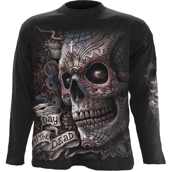 T-Shirt Homme EL MUERTO Spiral - Noir