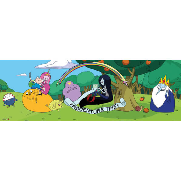 Adventure Time Cast 2 - Door Poster - 53 x 158cm