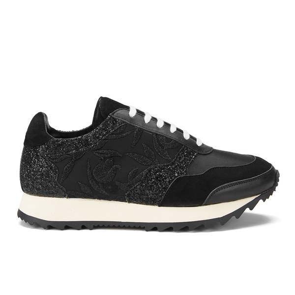 Markus Lupfer Women's Multi Printed Trainers - Black/Multi