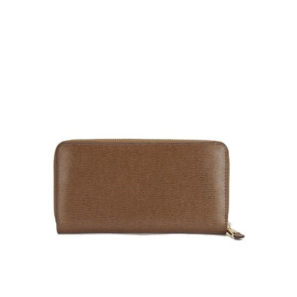 Lauren Ralph Lauren Women's Tate Zip Wallet - Lauren Tan/Cocoa: Image 2