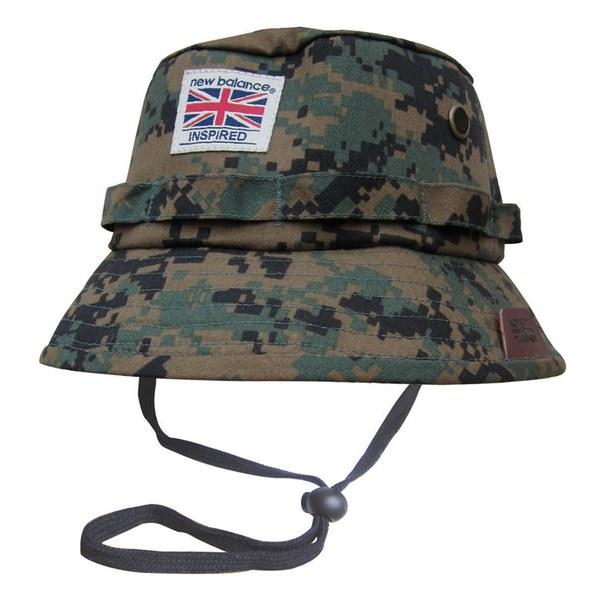 New Balance Men's Explorer Bucket Hat - Grey/Digital Camo