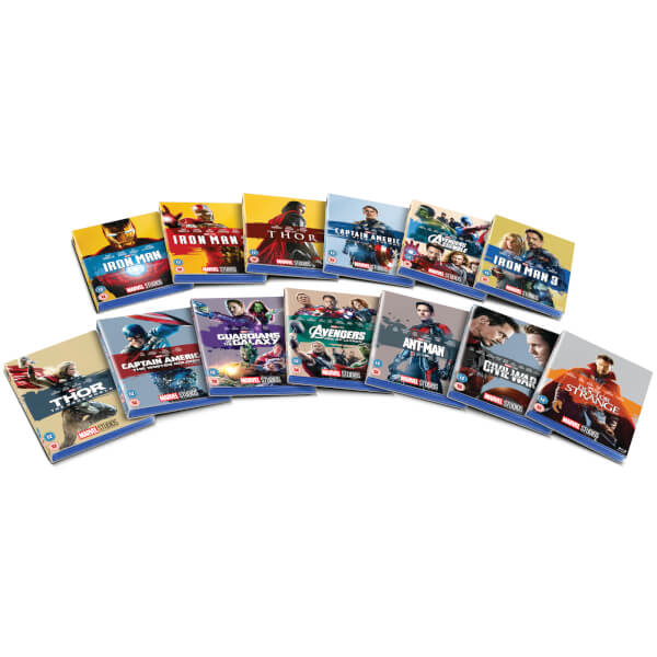 Marvel Studios New Collectible Sleeve Packaging - Blu-ray Forum
