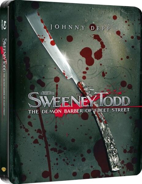 Sweeney Todd - Zavvi Exclusive Limited Edition Steelbook