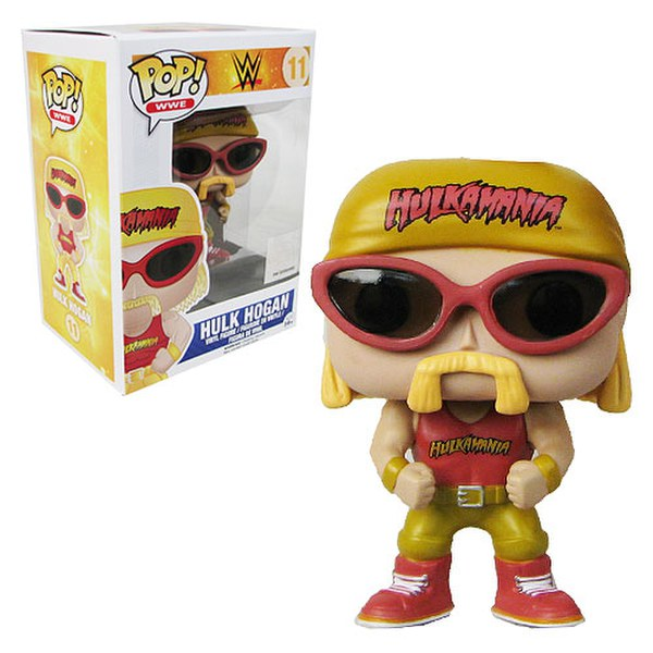 WWE Wrestling Hulk Hogan Pop! Vinyl Figure