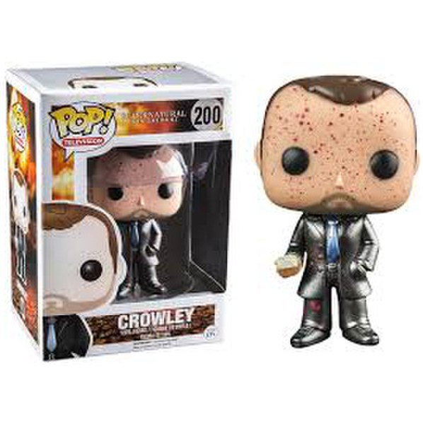 Supernatural Crowley Bloody Metallic Exclusive Pop! Vinyl Figure