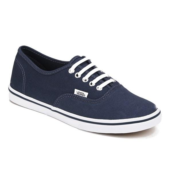 e90ce8f217e2a6 Vans Women s Authentic Lo Pro Trainers - Ombre Blue True White  Image 4