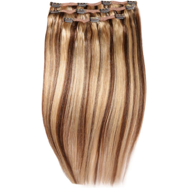 Beauty works deluxe clip in hair extensions 18 inch honey blonde beauty works deluxe clip in hair extensions 18 inch honey blonde 624 pmusecretfo Image collections