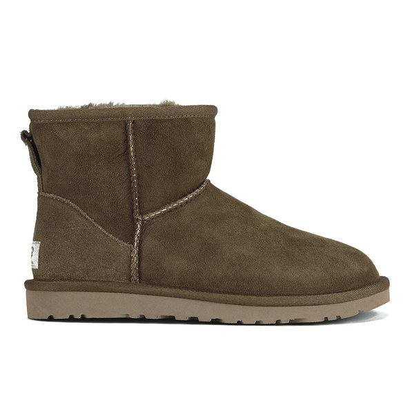 UGG Women's Classic Mini Sheepskin Boots - Dry Leaf