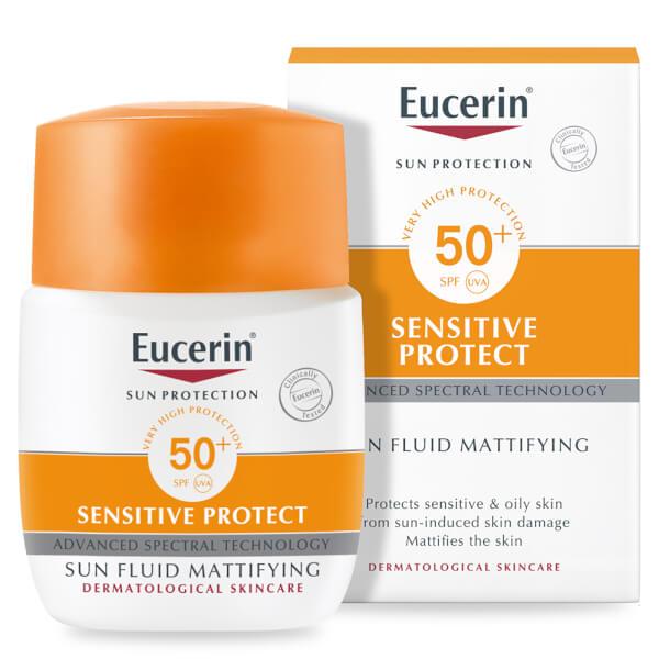 Eucerin® Sun Protection Sun Fluid Mattifying Face SPF50+ Very High (50ml)