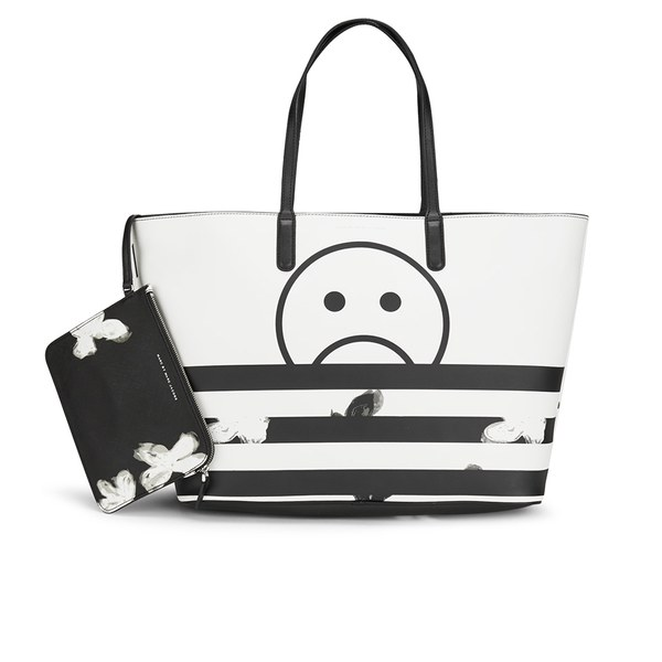 Marc by Marc Jacobs Women's Metropoli Printed Travel Tote Bag - Star White/Multi