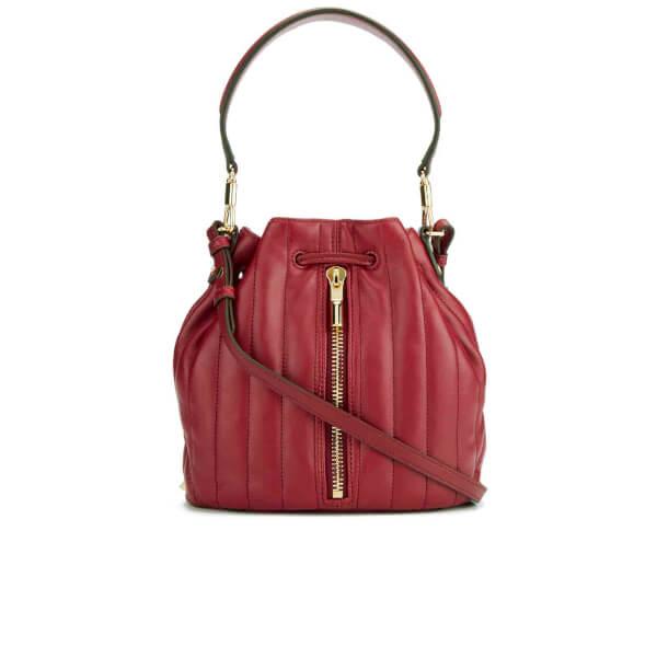 Elizabeth and James Women's Cynnie Mini Bucket Bag - Red Clay
