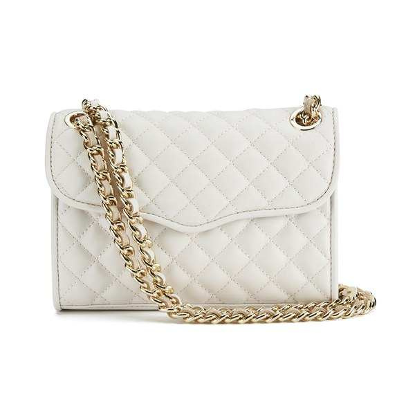 Rebecca Minkoff Women's Quilted Mini Affair Shoulder Bag - Seashell