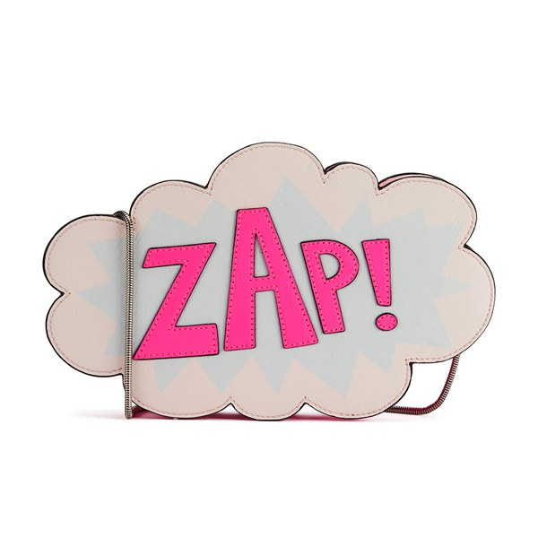 Rebecca Minkoff Women's ZAP! Cross Body Bag - Electric Pink/Multi