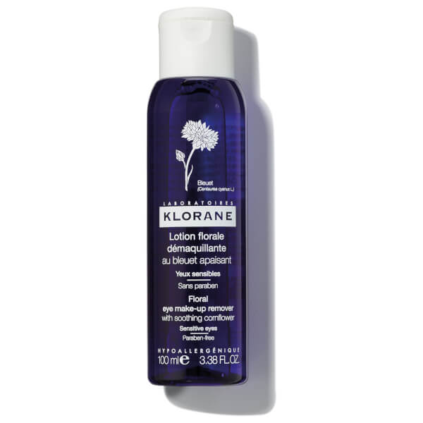 KLORANE Eye Make-Up Remover Lotion with Cornflower 3.4oz