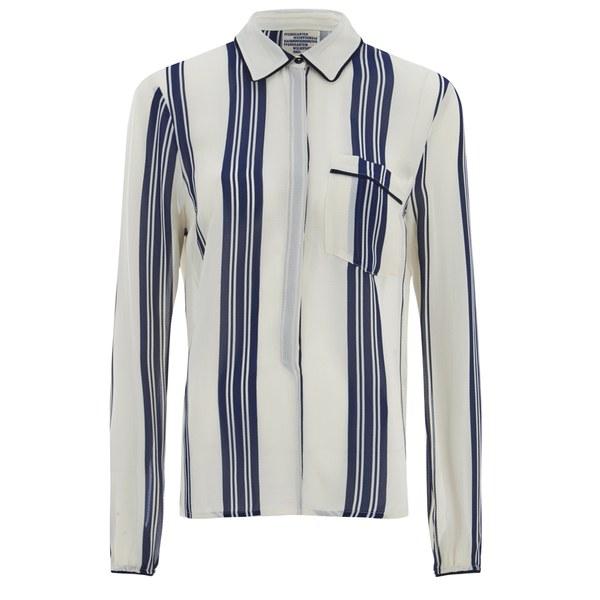 Baum und Pferdgarten Women's Mani Stripe Shirt - Sailor Stripe