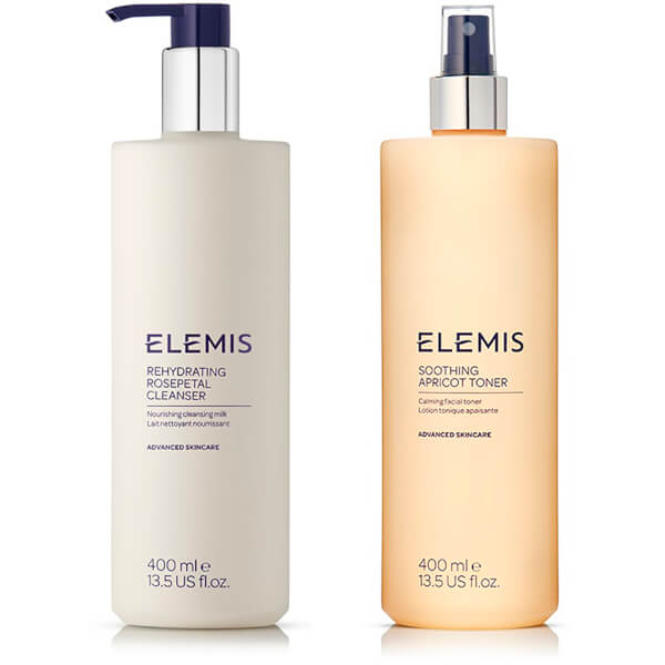 Elemis Supersize Soothing Cleanser and Toner Duo