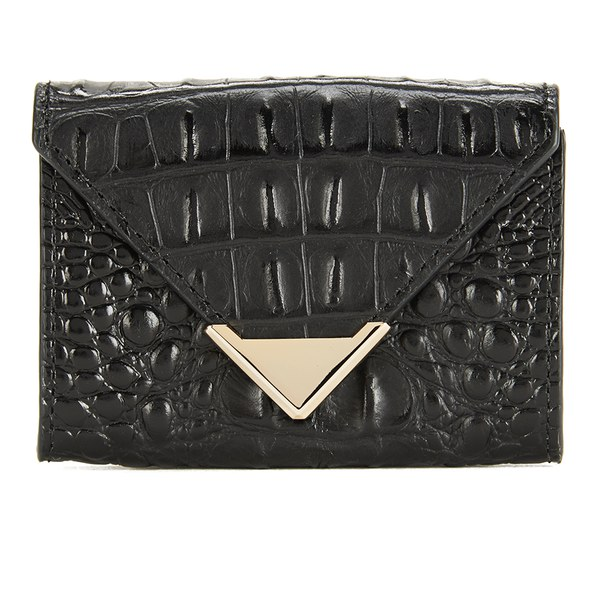 Alexander Wang Women's Prisma Leather Card Holder - Black