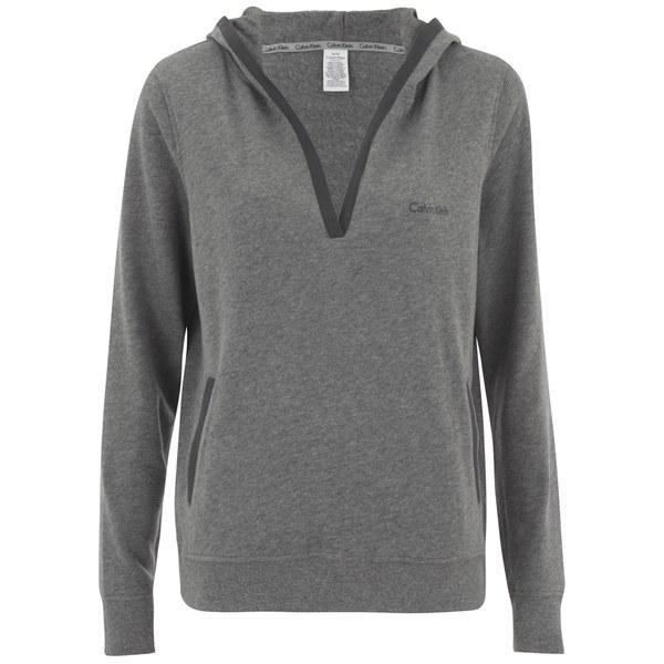 Calvin Klein Women's Evolve Hoody - Medium Grey