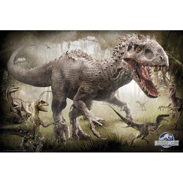 Jurassic World Raptors - Maxi Poster - 61 x 91.5cm