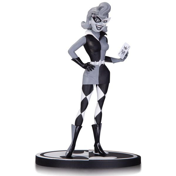 DC Collectibles DC Comics Batman Harley Quinn Black and White Statue