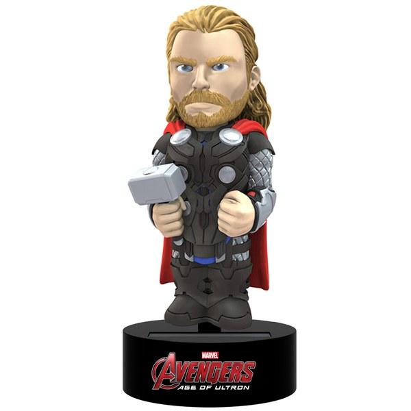 Figurine Solaire Thor- Avengers- L'ère d'Ultron -NECA- Body Knocker