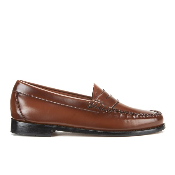 Bass Weejuns Women's Penny Leather Loafers - Mid Brown