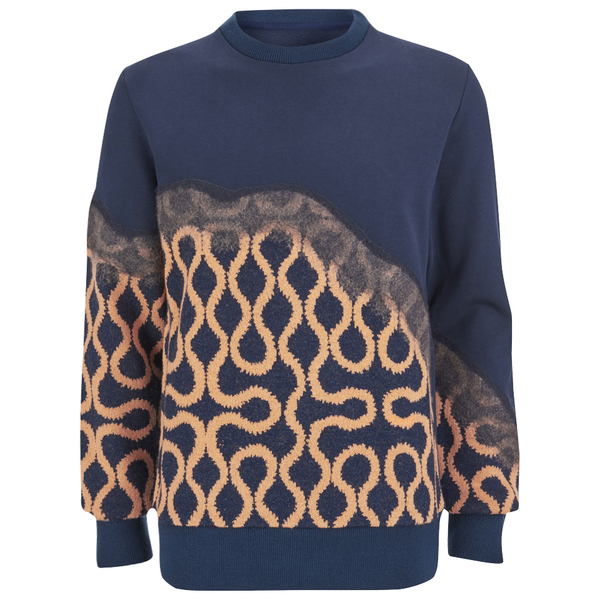 Vivienne Westwood MAN Men's Needlepunch Sweatshirt - Navy Mix