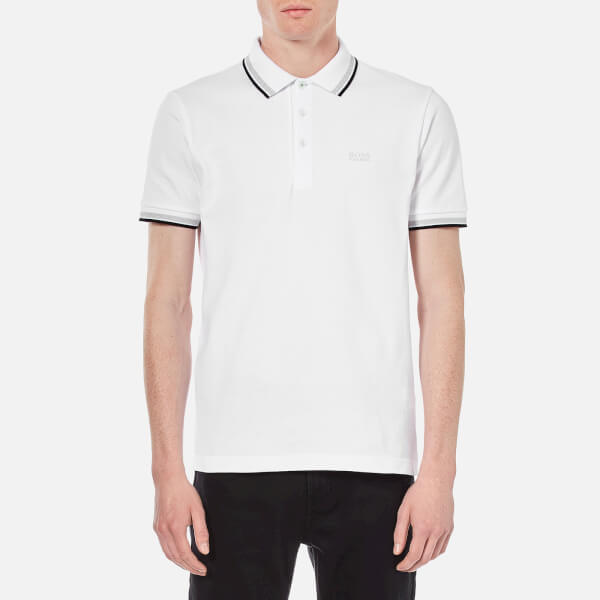 BOSS Green Men's Paddy Basic Polo Shirt - White