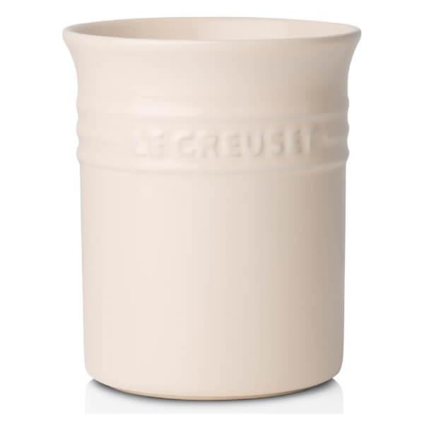 Le Creuset Stoneware Small Utensil Jar - Almond