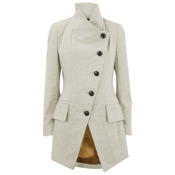 Vivienne Westwood Anglomania Women's Melton State Coat - Cream