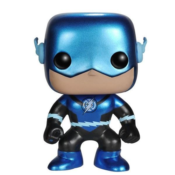 DC Comics Blue Metallic Lantern Flash Exclusive Pop! Vinyl Figure