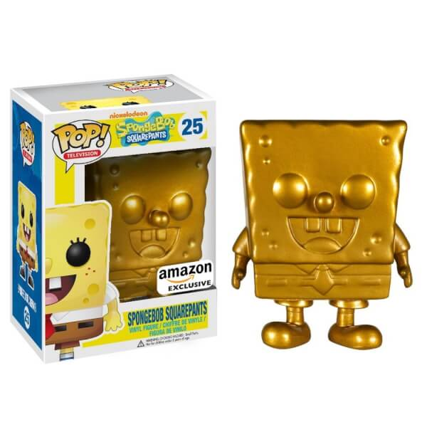 SpongeBob SquarePants Golden SpongeBob Pop! Vinyl Figure