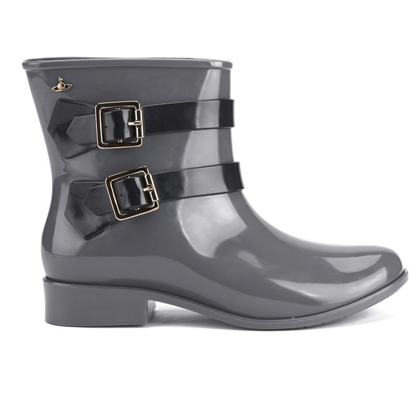 Vivienne Westwood for Melissa Women's Pirate Boots - Grey: Image 1