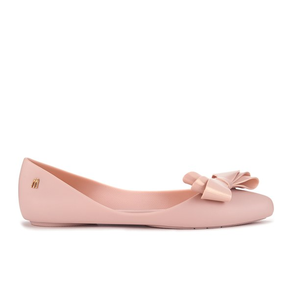 Melissa Women s Trippy 14 Pointed Bow Ballet Flats - Soft Pink  Image 1 d829c40065