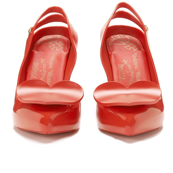 Vivienne Westwood for Melissa Women's Classic Heels - Red Heart: Image 4