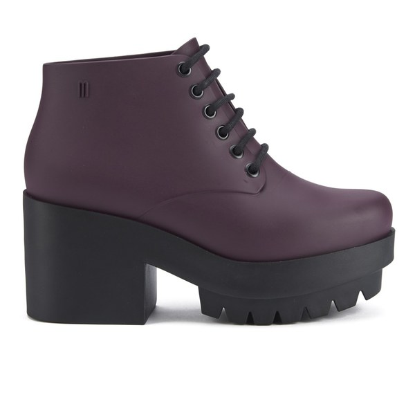 Melissa Women's Stellar Lace Up Ankle Boots - Plum