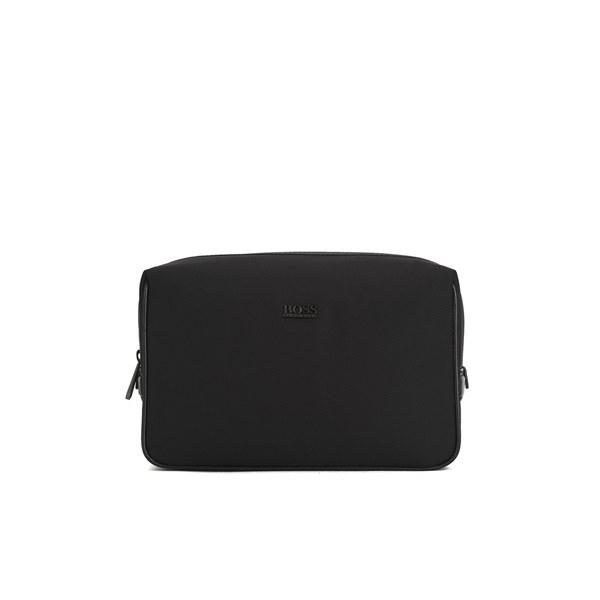 BOSS Hugo Boss Men s Nemphis Wash Bag - Black - Free UK Delivery ... 5a2818965d667