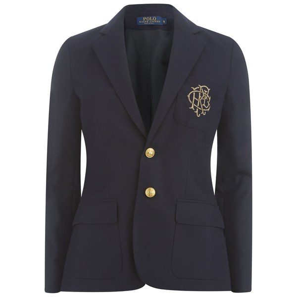 Polo Ralph Lauren Women's Custom Blazer - Park Avenue Navy