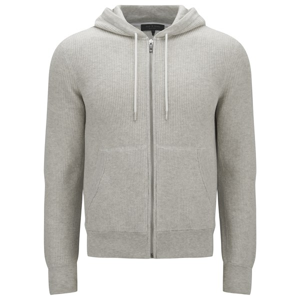 rag & bone Men's Jaxson Hooded Sweatshirt - Grey