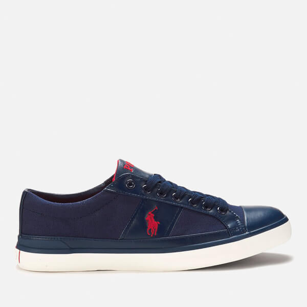 Polo Ralph Lauren Men's Churston Canvas Trainers - Newport Navy
