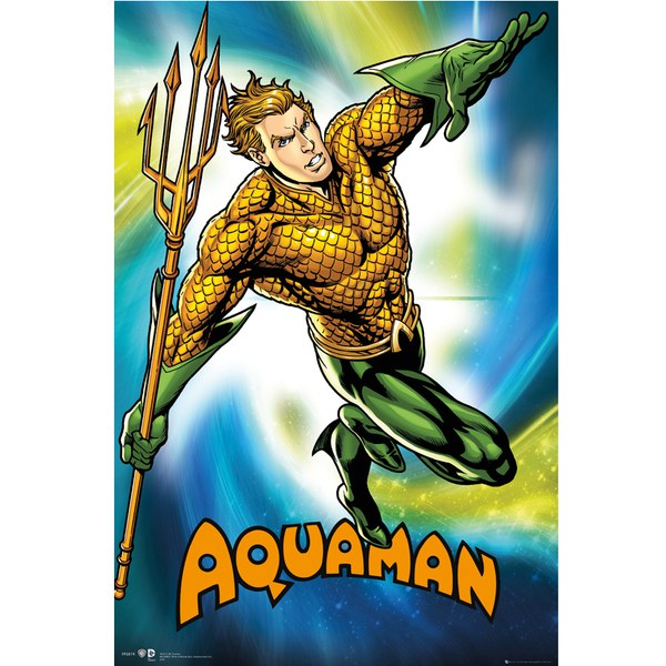 DC Comics Aquaman - 24 x 36 Inches Maxi Poster