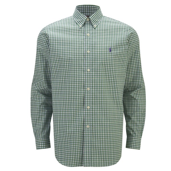 Polo Ralph Lauren Men's Long Sleeve Oxford Shirt - English Ivory