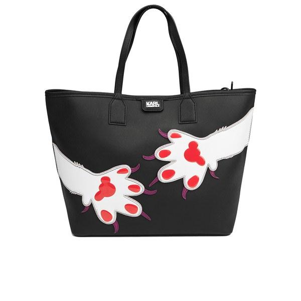 Karl Lagerfeld Women's K/Choupette Love Shopper - Paw Black