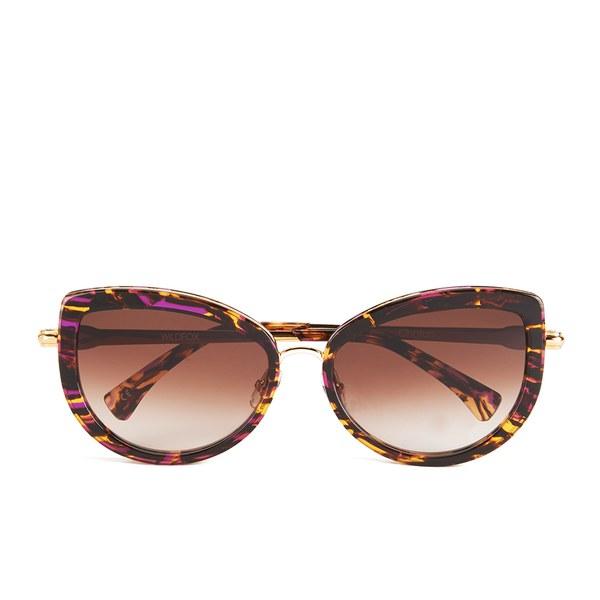 Wildfox Women's Chaton Sunglasses - Montage/Brown Gradient